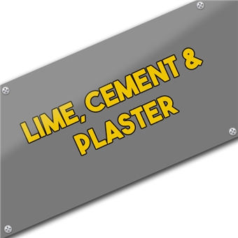 Lime, Cement, Plaster, Aggregates