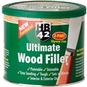 HB42 White Wood Filler 550g